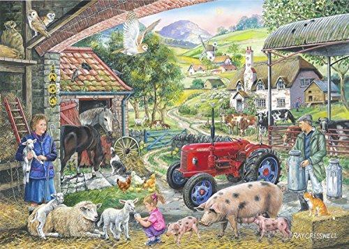 Sur la Ferme (On the Farm) - Puzzle de 1000 Pièces – Find the Differences No.2