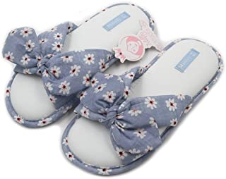 New Fashional Summer Floral Sweet Cotton Slippers Japanese Flowers Women's Slippers Shoes