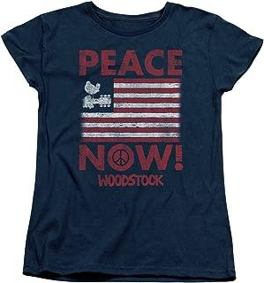 Woodstock Music Festival Peace Now Women's T-Shirt Tee