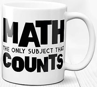 Taza de café de matemáticas para amantes de las matemáticas 330 ml Regalo de matemático Taza de cerámica con cita de matem...