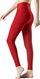 Yoga Pants Mid-Waist/High-Waist Tummy Control w Side/Hidden Pocket Series