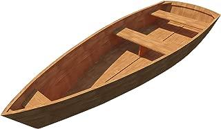 Row Boat Plans DIY Wooden Rowboat Skif Dory Canoe 11' x 3' Rowing Craft Build