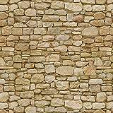 MyTinyWorld 5 Stück Puppenhaus gemischte Größen unregelmäßige Oberfläche Stein Papierbögen