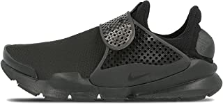 Womens Sock Dart SE Running Trainers 862412 Sneakers Shoes (US 10, Black Black Volt 004)