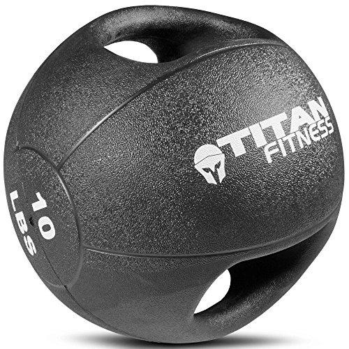 Titan Dual Grip Rubber Medicine Ball
