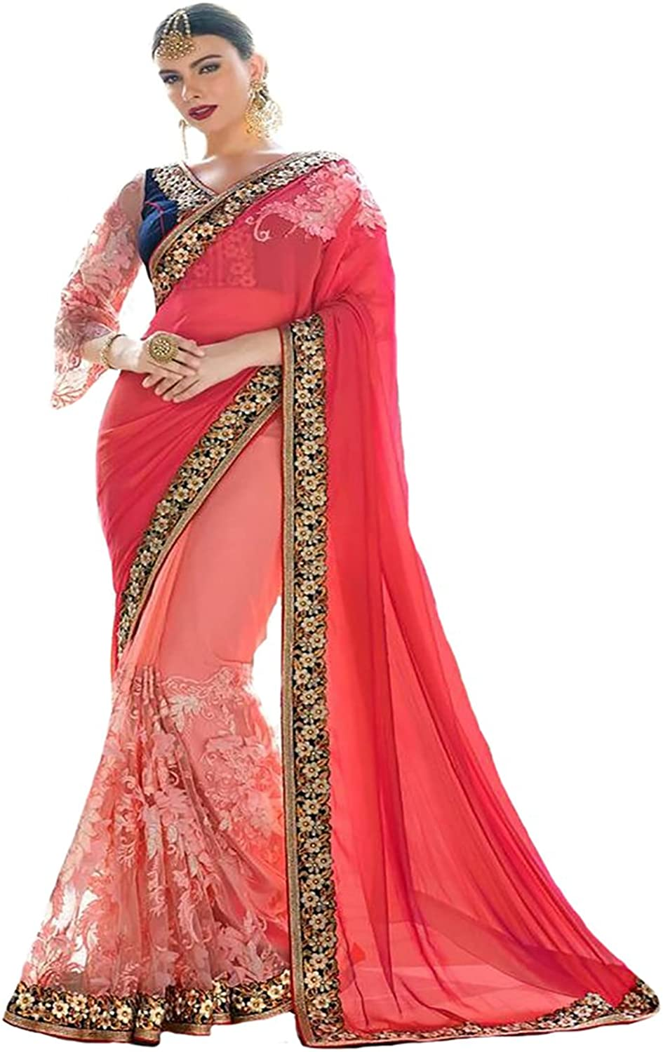 Bridal Saree Sari Blouse New Launch Ethnic Collection Formal Wedding Ceremony 9211