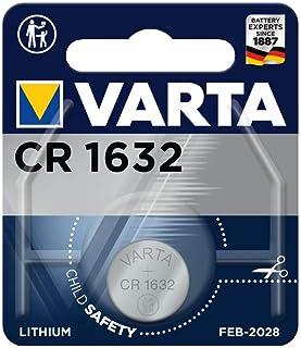 Varta 0K17913 batterijen Electronics CR1632 Lithium knoopcel verpakking met 1 knoopcel in originele blisterverpakking van ...