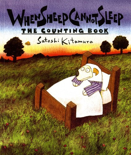 When Sheep Cannot Sleep: The Counting Book (Sunburst Book)