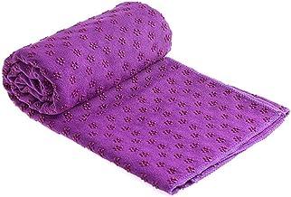 Antislip Yogamat Handdoek Absorbeert Zweet Voorkom Inademing van Bacteriën Veiligheid Antislip Zweetabsorberende Yogadeken...