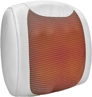 Masajeador Cervical Espalda eléctrico Masaje Pies Piernas Masaje de Espalda de Amasamiento de Shiatsu Profundo Calor para Relajarse Alivio del los Dolores de los Músculos