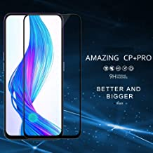 JGDWORLD Edge to Edge Full Screen Coverage with HD Clearance Tempered Glass for REALME X (2019)