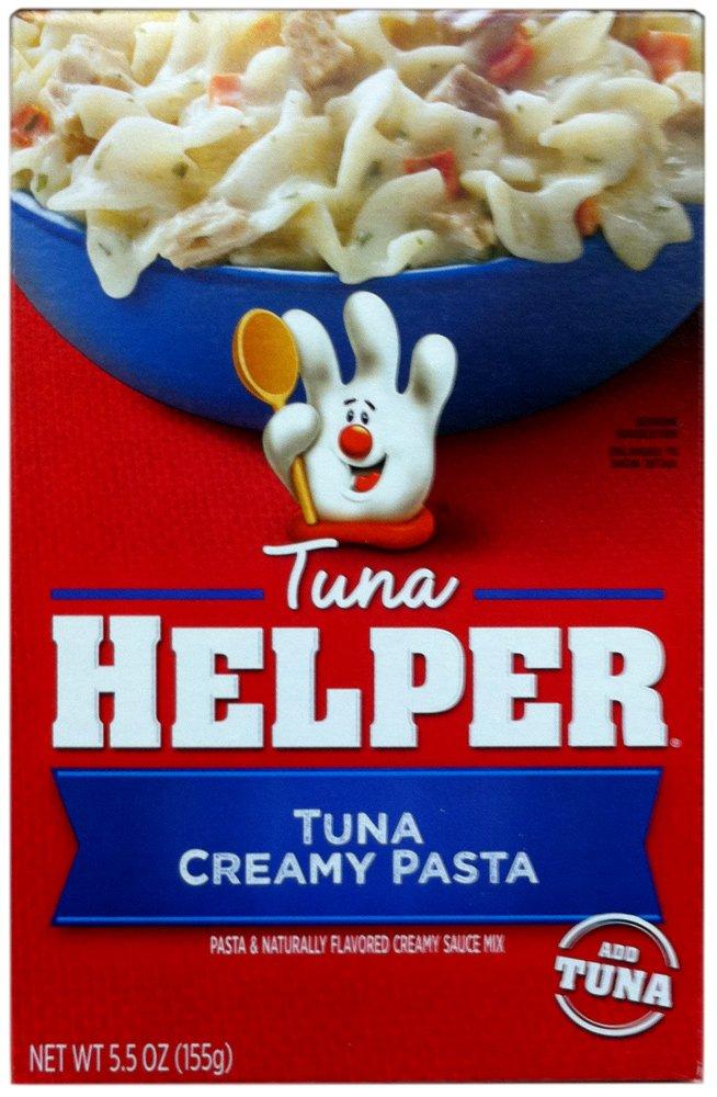 Betty Crocker TUNA CREAMY PASTA 4 Inventory cleanup free shipping selling sale Helper Pack Tuna 5.5oz