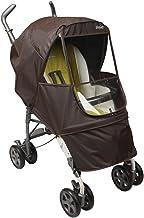 Manito Elegance Alpha - Protector de lluvia para cochecito de bebé, color marrón