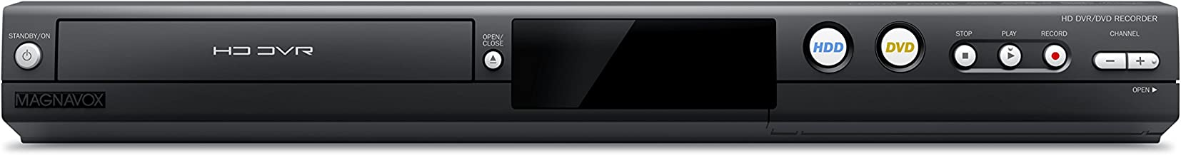 Magnavox MDR867H HD DVR/DVD Recorder with Digital Tuner (Black)