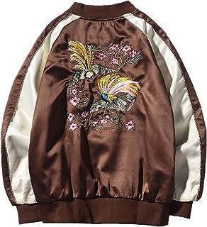 NOBRAND Men's Jacket Jacket Embroidered Jacket Bomber