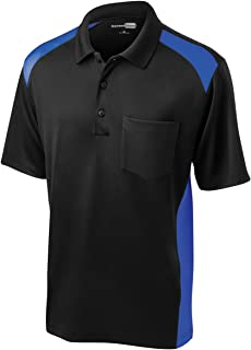 Men's Moisture Wicking Pocket Polo Shirt