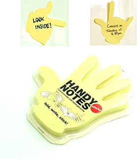 hand post it notes