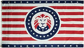 Miami Wholesale 3x5 Donald Trump Lion Great American 100D Woven Poly Nylon 3'x5' Flag