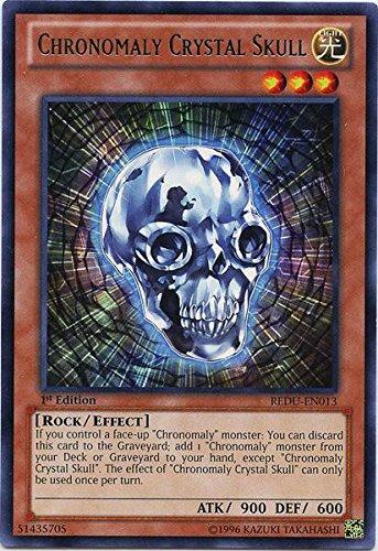 Yu-Gi-Oh! - Chronomaly Crystal Skull (REDU-EN013) - Return of The Duelist - Unlimited Edition - Rare