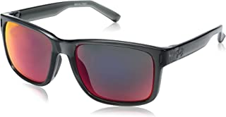 Under Armour UA Assist Square Sunglasses, UA Assist Shiny Crystal Smoke / Gray Frame / Gray / Infrared Multiflection Lens, M/L