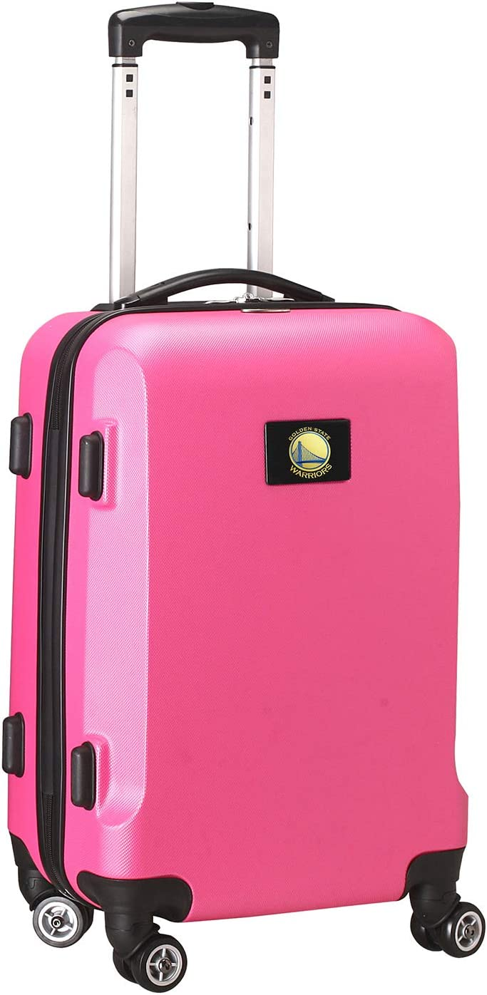 Denco Sports Luggage Golden State Warriors 20 Hardcase Domestic Carry-on Spinner