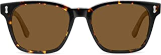 TSEBAN Retro Square Polarized Men's Sunglasses UV...