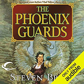 The Phoenix Guards                   By:                                                                                                                                 Steven Brust                               Narrated by:                                                                                                                                 Kevin Stillwell                      Length: 16 hrs and 14 mins     266 ratings     Overall 4.3