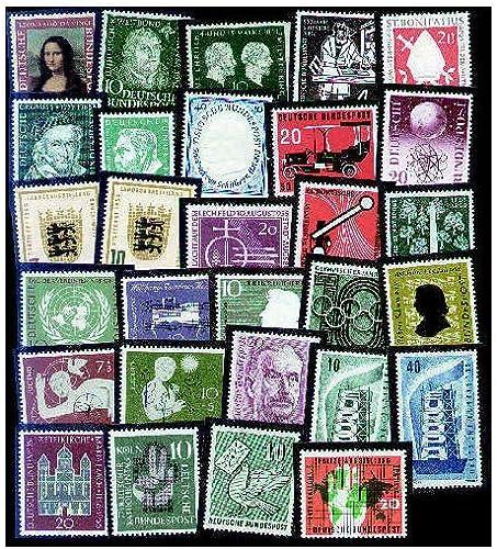 Goldhahn BRD 50er-Jahre postfrisch  Briefmarken für Sammler