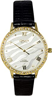 Omax Analog Watch For Unisex Round shape - GT005G62I