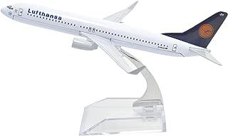 Tang-Dynasty(TM 1:400 16cm Boeing B-737 Lufthansa Airlines Metal Airplane Model Plane Toy Plane Model
