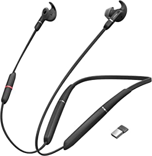 Jabra Evolve 65e Wireless Earphone with Link 370 USB Adapter