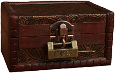 Smart Chinese Antique Style Brass Kylin Figure Lock Tools, Hardware & Locks Key Worth Collecting