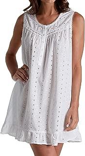 Vestido corto bordado 100% algodón tejido (1333C)