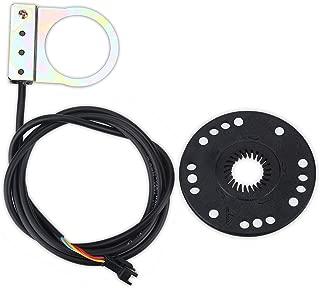 99V Universale Acceleratore Pollice di Controllo velocit/à con LCD Battery Voltage Display per Scooter Bici Elettrica Skateboard Alomejor E-Bike Controllo del Manubrio 12V