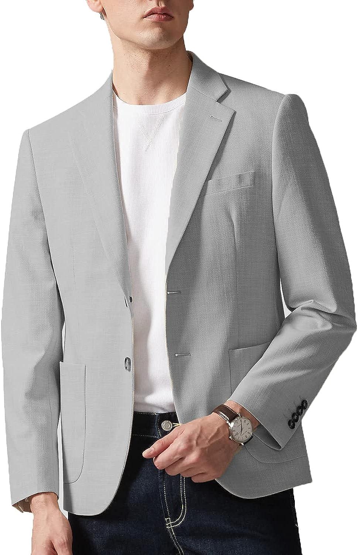 Zopo Men's Casual Suit Blazer Jackets Slim Fit Lightweight Sports Coat