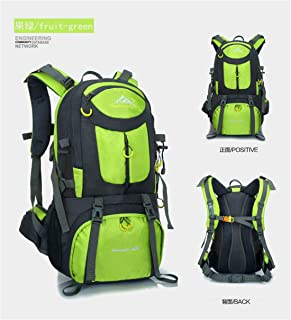Mountaineering Bags, Hiking, 40L / 50L / 60L Large Capacity Outdoor Sports Shoulder Bag, Optional Color 8,Green,60L