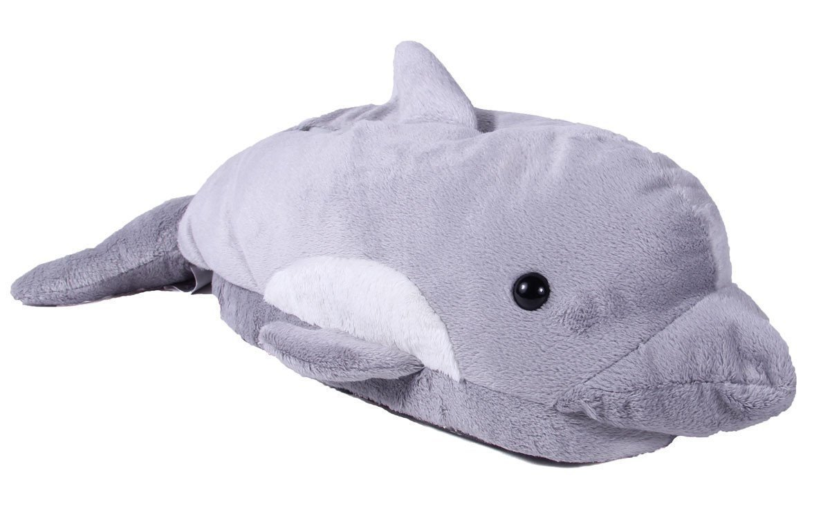 Image of Dolphin Animal Slippers for Women