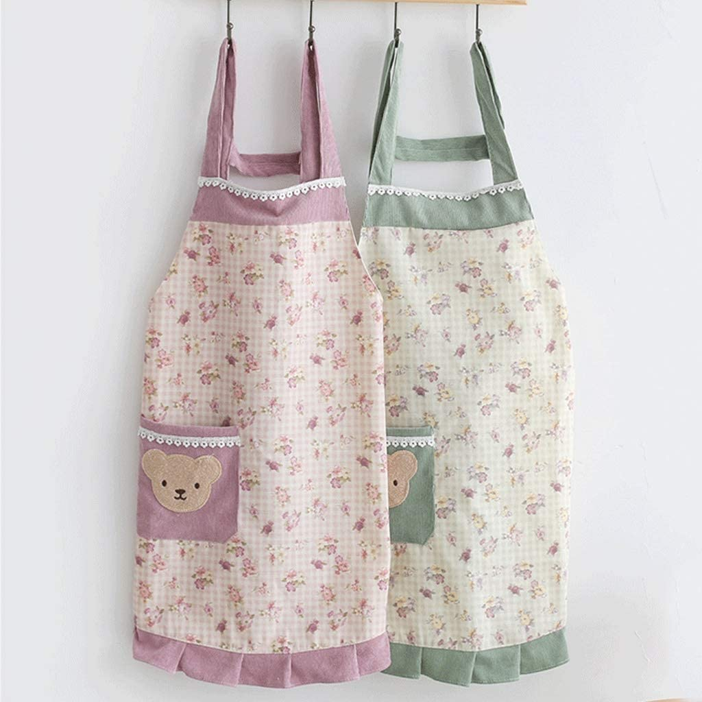 ZHEDYI Finally popular brand 2 Kitchen Cooking Apron New popularity and Waterproof Aprons Oil-Proof