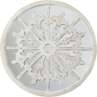 Signature Design by Ashley Emlen Accent Mirror, Antique White