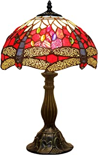 Best tiffany style red dragonfly table lamp Reviews
