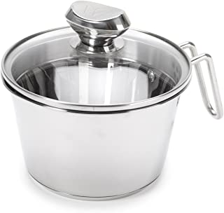 Wolfgang Puck Stainless Steel 1.5-Quart Cook and Stir w/Colander Lid