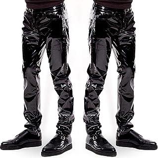 Pantalon Simyli Cuir Amazon Homme En hrxsdCBtQo