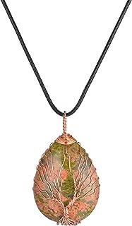 tree of life pendant amethyst