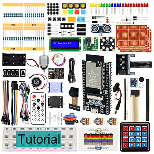 Freenove Ultimate Starter Kit for ESP32-WROVER (Contained)...