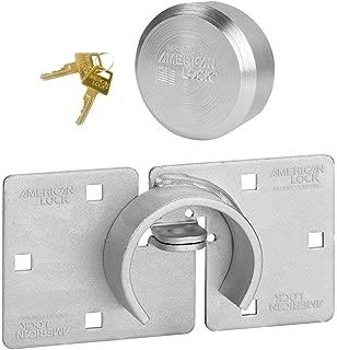 Master Lock American (1) Hidden Shackle and Hasp Combo A801 - A2010NKA w/Bumpstop Technology
