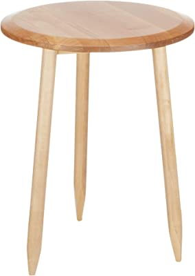 Birch Solid End Table-Natural Color