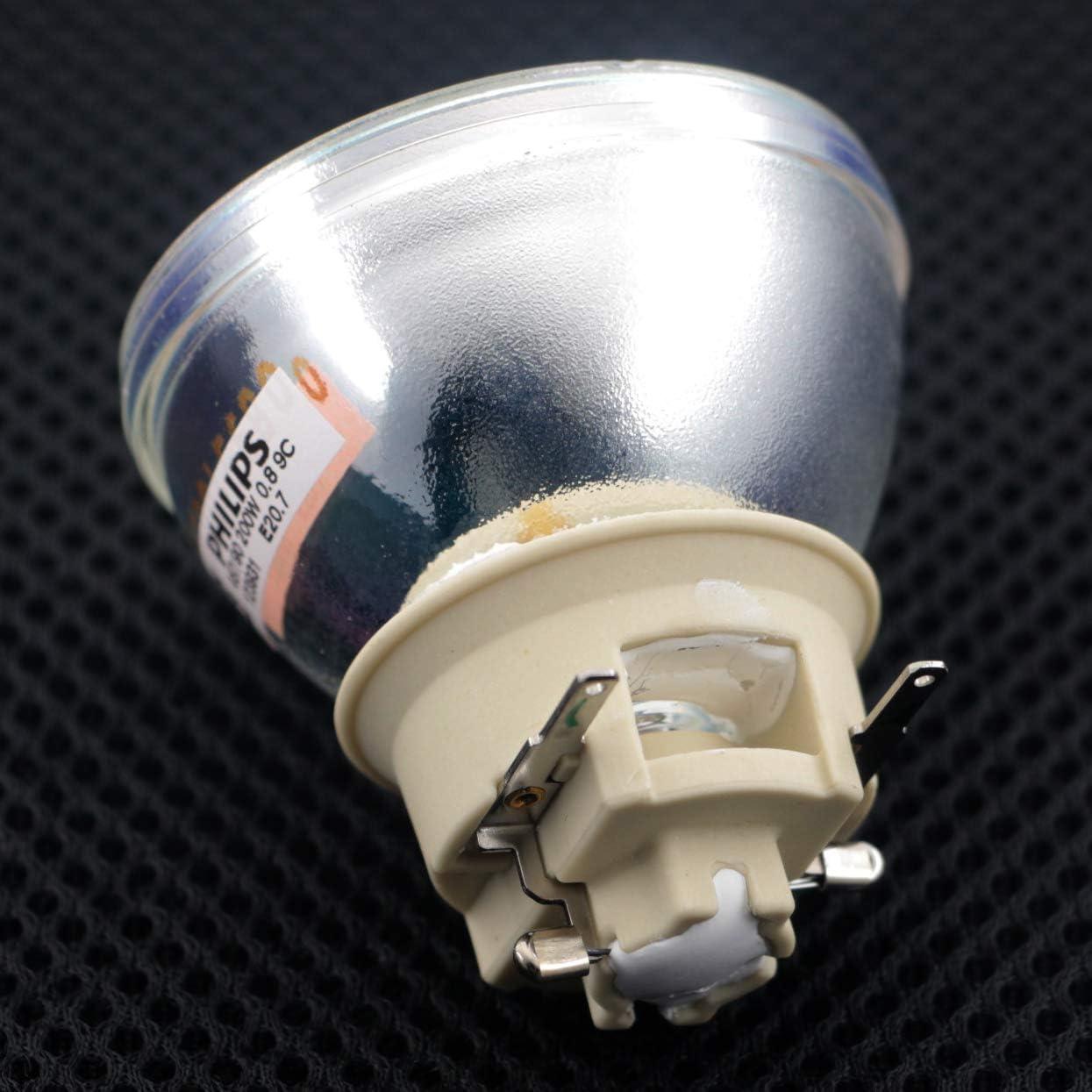 SNLAMP 5J.JGP05.001 5J.JGX05.001 L/ámpara de proyector Repuesto 200W Bombilla para BENQ DX808ST DX825ST MX808PST MX808ST MX825ST MX604 MX604W MS550 MX550 MH606 MH606w proyectores