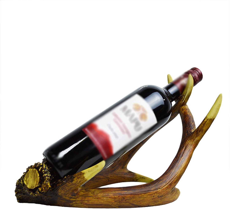 Wine Rack Wine Rack, Creative Crafts, Fashion Wine Rack,Size  28 cm Long 21 cm High (color   A)