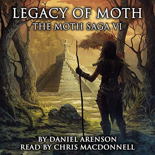 Legacy of Moth audiobook cover art