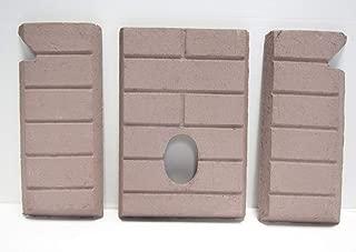 Whitfield Advantage II-T, III Premium Sandstone FIRE-TEK Firebrick for Pellet Stoves